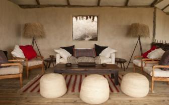 The lounge area at Lamai Serengeti