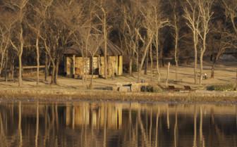 The exterior at Horizon Horseback Safari Lodges