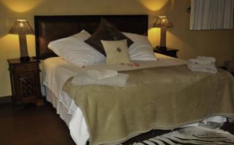 Bedroom at Horizon Horseback Safari Lodges, luxury safari camp in South Africa