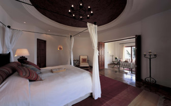 Bedroom at the Belmond Maroma Resort