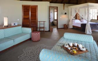 Picture of a villa interior at Coral Lodge, Mozambique