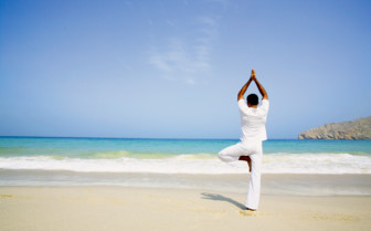 Yoga at Six Senses Zighy Bay