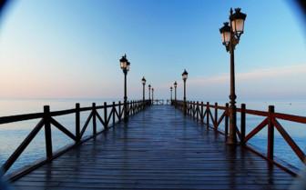 The pier at Marbella Club hotel