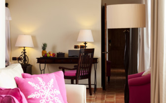 Suite at Hotel Guaycura, luxury hotel in Mexico