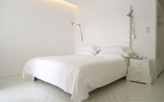 Bedroom at Casa Angelina, luxury hotel in Italy