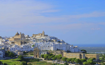 View of Ostuni