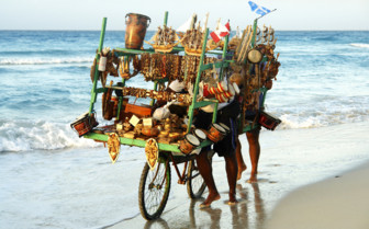 Cuban beach transport