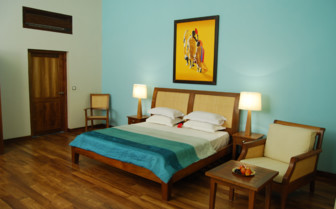 Bedroom at Neeleshwar Hermitage