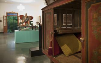 Interior design at Purity hotel