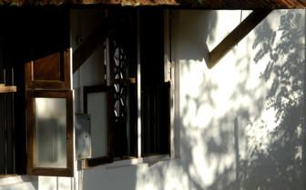 Exterior design at Serenity, luxury hotel in India