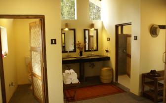 Bathroom at Shergarh hotel