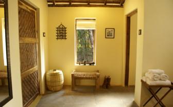 Bathroom at Shergarh, luxury hotel India