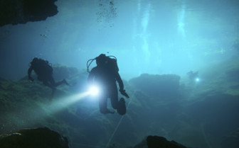 Diving in Mexican Cenotes