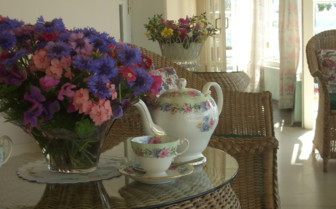 Tea on the Verandah at Glenburn tea Estate