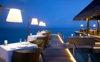 Alfresco Dining On Velaa Private Island