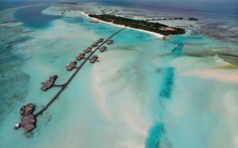 Gili Lankanfushi From The Air