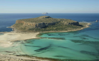 Balos Bay in the Mediterranean