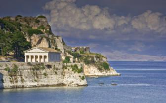A Hellenic Building on the Corfu Coast