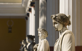 Greek Female Marble Statues