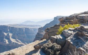 A Rocky Canyon at Nizwa