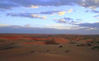 The Wahiba Sands at Dusk