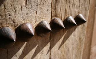 Detail on a Nizwa Door