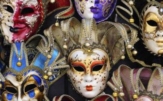 Venetian decorative masks
