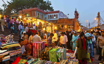 Market Bazaar by night