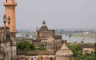 Rooftops in Lucknow