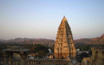 Tower in Hampi