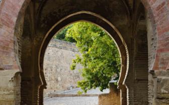 An Arched Brick Doorway