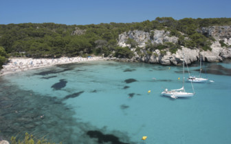 A Bay in Menorca