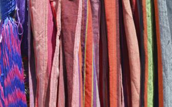 Brightly Coloured Hammocks