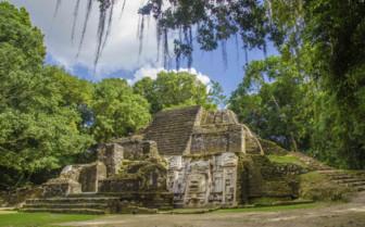 The Mayan Ruins at Lamanai