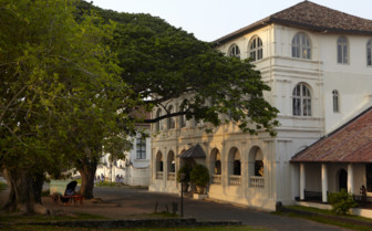 Exterior at Amangalla, luxury hotel in Sri Lanka