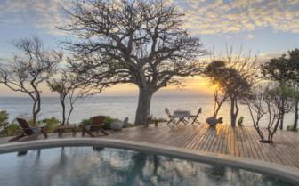 Azura Swimming Pool in Mozambique