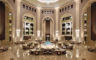 The Impressive Hotel Entrance