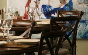 Tables at Casas del rey de Baeza