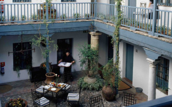 The Hotel Courtyard