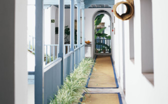The Open Hotel Corridor