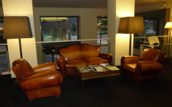 A Cosy Sitting Area in the Miro Hotel