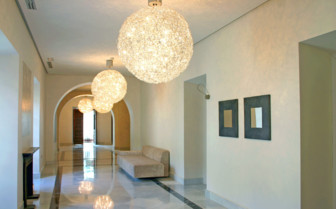 A Hall with Round Lights in Cordoba