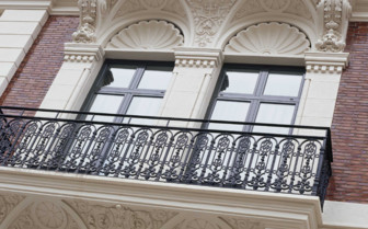 Window Detail on the Hotel Facade