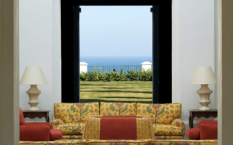 A View of the Sea from the Lobby of Finca Cortesin