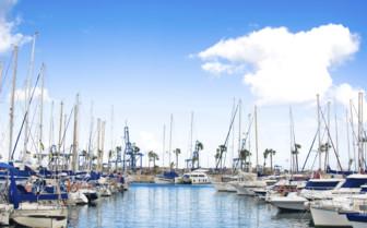 Boats in the Marina in Gran Canaria