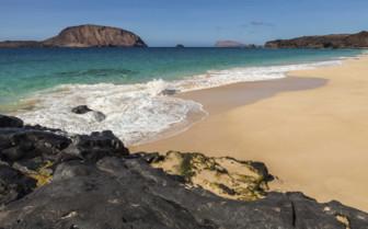 A Rocky Cove on Isla Graciosa