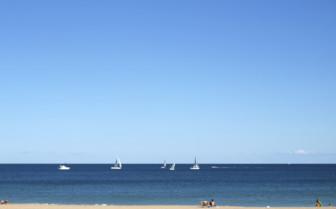 The Beach in Valencia