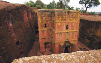 St George's Church in Lalibela