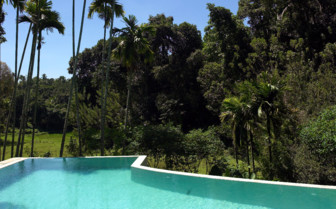 The pool at Kandy House