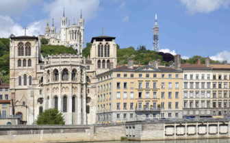Fourviere Hill in Lyon